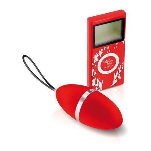 Jajeczko wibrujące - vibrating egg red marki Plaisirs secrets