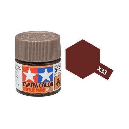 Farba akrylowa - X33 Bronze gloss / 10ml Tamiya 81533 (49376890)