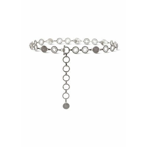 Pasek łańcuszkowy srebrny marki Bonprix