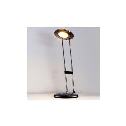 Klasyczno-nowocz. lampa biurkowa led amina, czarna marki Lampenwelt