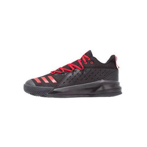 adidas Performance STREET JAM 3 Obuwie do koszykówki core black/scarlet, GTP05