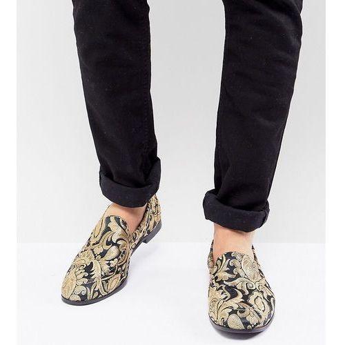 Kg by kurt geiger wide fit brocade loafers - black, Kg kurt geiger