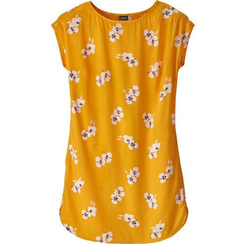 Patagonia JUNE LAKE DRESS Sukienka sportowa mariposa/rugby yellow, 58390