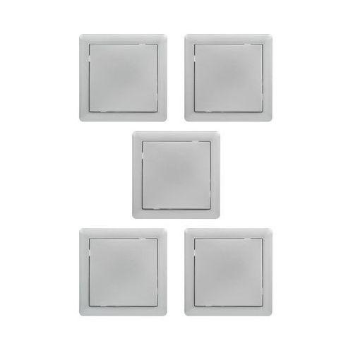 Lexman Zestaw slim srebrny (5901171202581)