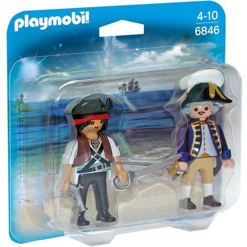 Playmobil PIRATES Duo pack pirat i żołnierz 6846 - BEZPŁATNY ODBIÓR: WROCŁAW!