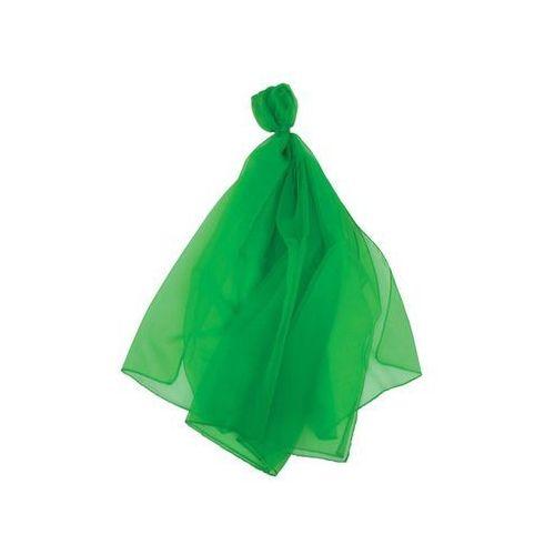 Chusta nylonowa do żonglowania zielona, do zabawy dla dzieci