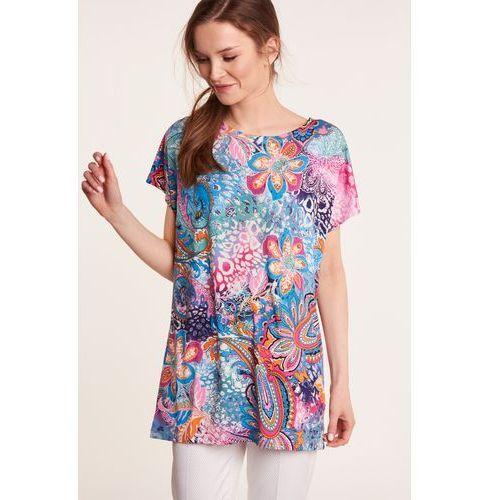 Zwiewna bluzka z krótkim rękawem marki Studio mody pdb