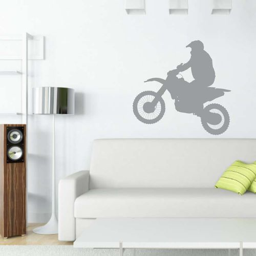 motocykl krosowy szablon malarski 2314
