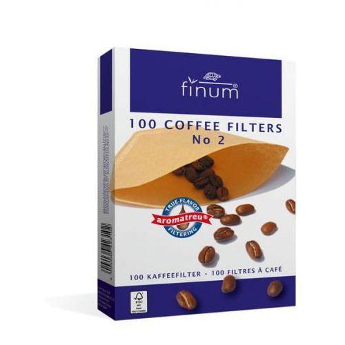 Finum filtry do kawy nr 2 100 szt., 1816