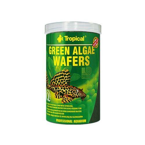 TROPICAL Green algae wafers puszka 100 ml/45g- RÓB ZAKUPY I ZBIERAJ PUNKTY PAYBACK - DARMOWA WYSYŁKA OD 99 ZŁ