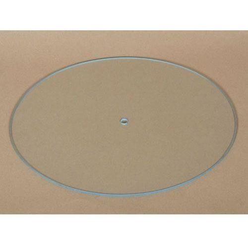 Owalny zegar szklany 21,5x26 cm - owal marki Pentart