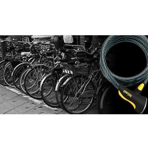 Onguard dobermann 8027 zapięcie kablowe 185 cm Ø15 mm czarny linki rowerowe (7290001280270)
