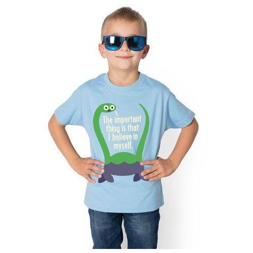 Koszulka dziecięca i believe in myself marki Megakoszulki