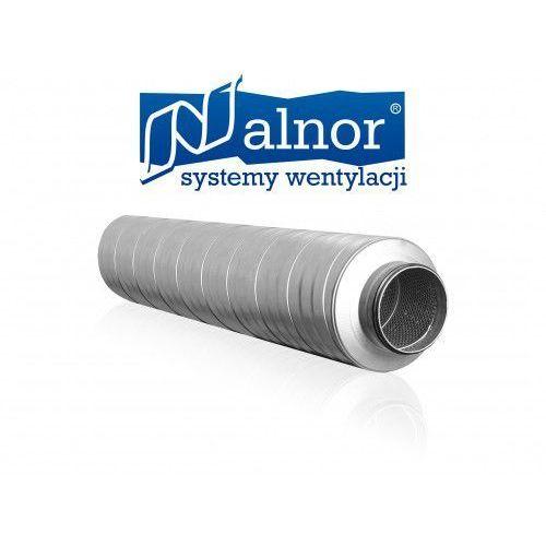 Tłumik akustyczny prosty 125mm z izolacją 50mm (1200mm) (SIL-50-125-1200)