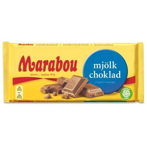 Marabou Mjolkchoklad czekolada mleczna 200g (7310511210403)