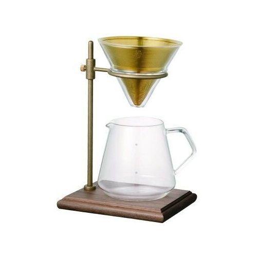 KINTO SLOW COFFEE STYLE SET 4 FILIŻANKI - DRIPPER I STAND, 62