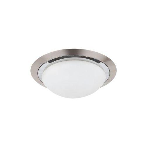 Plafon lampa sufitowa Rabalux Princessa 2x40W E27 sat.chrom/biały 3663
