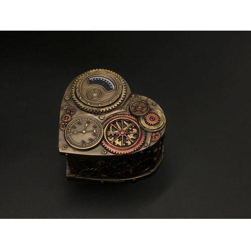 Veronese Steampunk szkatułka serce (wu77234a4)