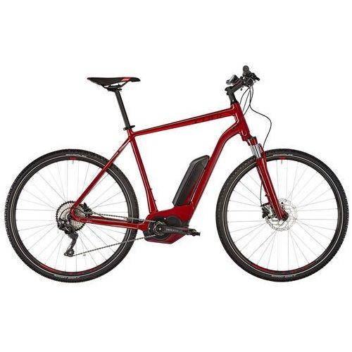"""Cube cross hybrid pro 400 rower elektryczny crossowy czerwony 54cm (28"""") 2018 rowery elektryczne"""