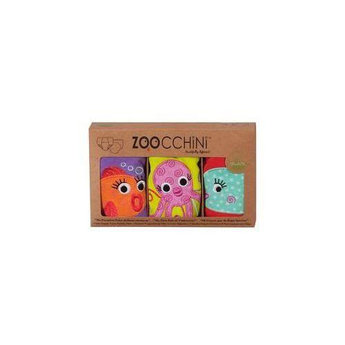 Zoocchini Majtki treningowe dziewcz�ce 2-3 lata 3 szt. (ocean)