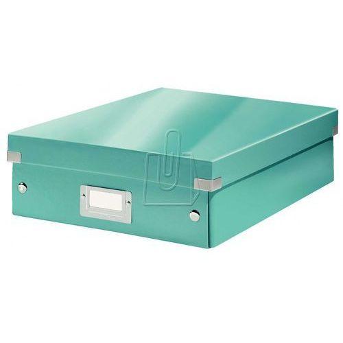 Esselte Pudło archiwizacyjne leitz click&store z przegródkami turkusowy 280x100 (60580051) (4002432105168)