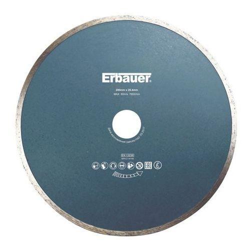 Erbauer Tarcza diamentowa ciągła 200 x 25 4 mm