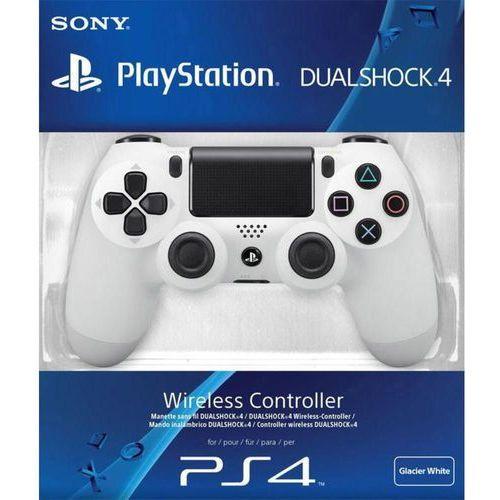 PS4 Dualshock 4 biały V2 - odbiór w 2000 punktach - Salony, Paczkomaty, Stacje Orlen