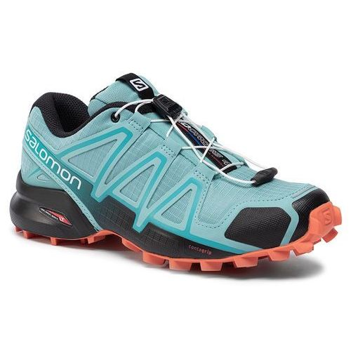 Buty SALOMON - Speedcross 4 W 407866 23 V0 Meadowbrook/Black/Exotic Orange, kolor niebieski