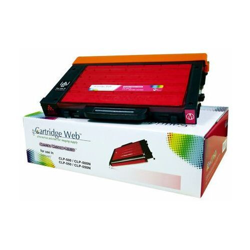 Toner magenta samsung clp 500 zamiennik clp-500d5m, 5000 stron marki Cartridge web
