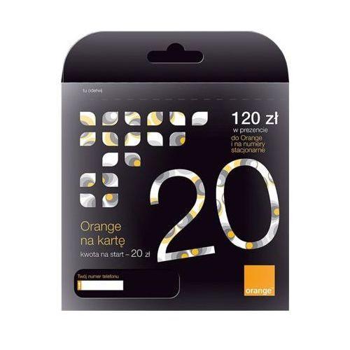 Starter orange one 20 marki Orange