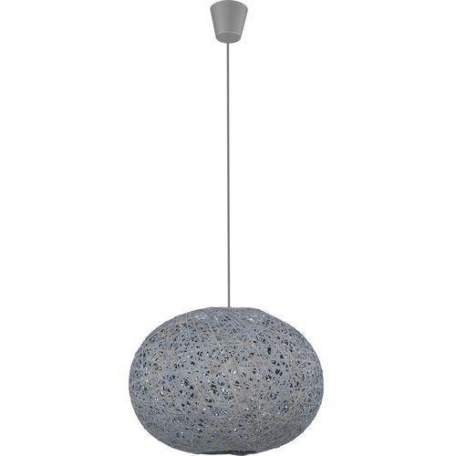 Lampa wisząca zwis oprawa tk lighting backaz gray 1x60w e27 szara 1865 marki Tklighting