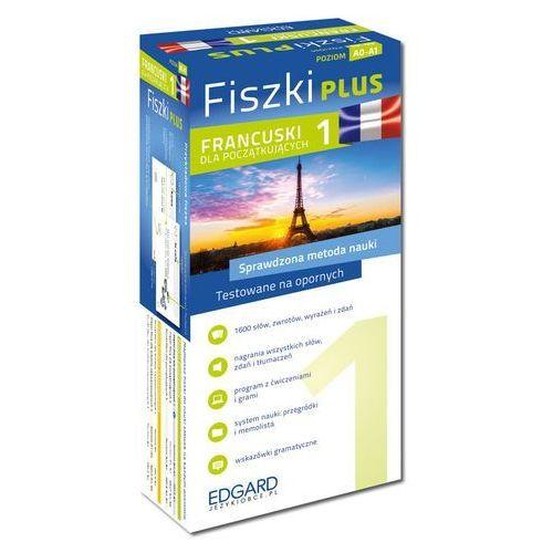 Francuski Fiszki PLUS dla początkujących 1 - Wysyłka od 3,99 - porównuj ceny z wysyłką