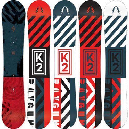 Deska snowboardowa r17 raygun m 153 11a0020.1.1.153 marki K2