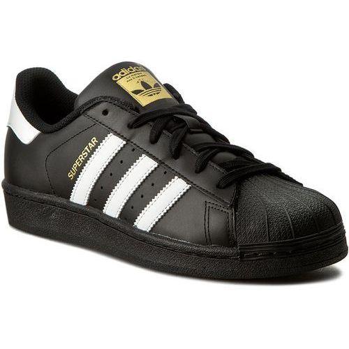 Adidas Buty - superstar foundation b27140 cblack/ftwwht/cblack