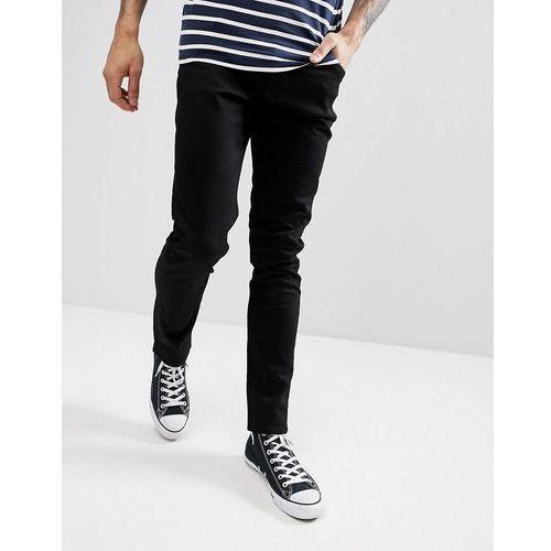 friday black skinny jeans - black marki Weekday