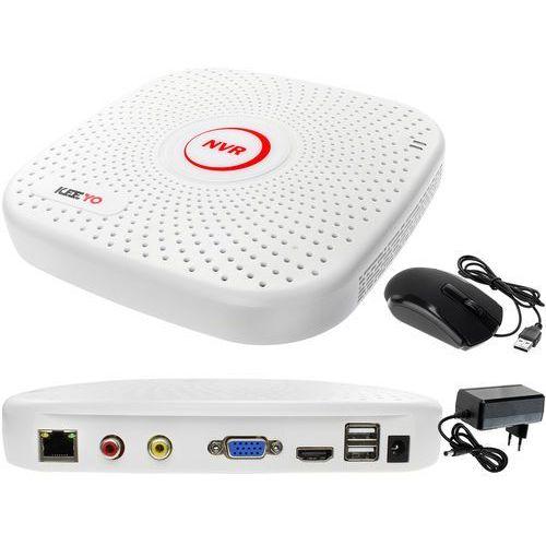 Keeyo Rejestrator monitoring przez internet sieciowy ip 9 kanałowy lv-nvr9915s