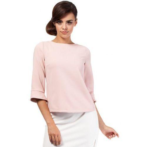 Bluzka Model MOE190 Powder Pink, kolor różowy