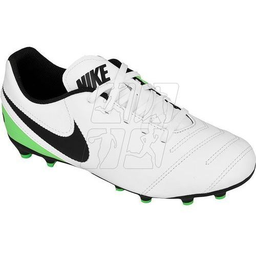 Buty piłkarskie  tiempo rio iii fg jr 819195-103 marki Nike