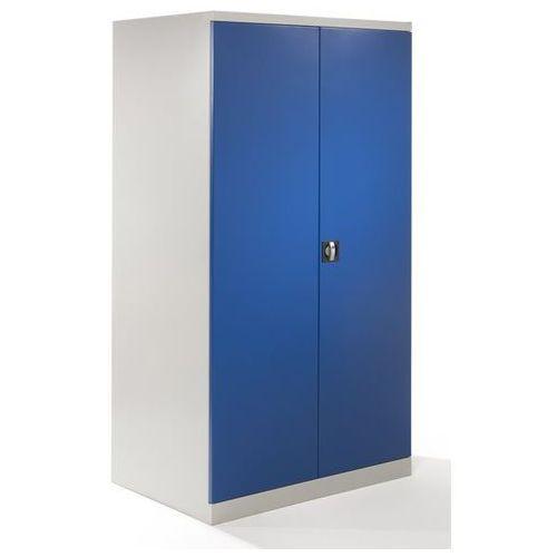 Szafa z drzwiami skrzydłowymi XXL, szer. 1000 mm, drzwi niebieskie gencjanowe. Z