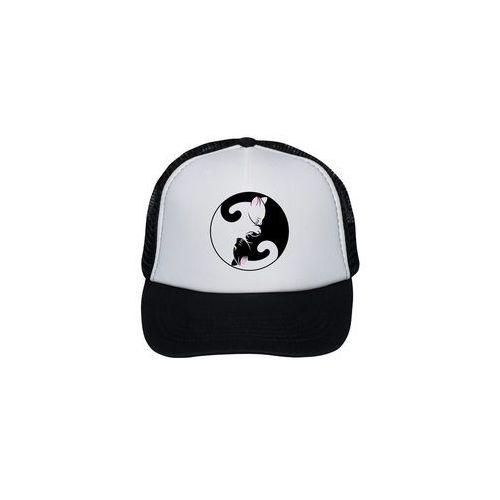 Czapka Yin Yang Kotki, kolor czarny