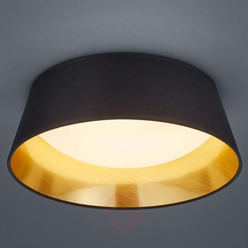 Plafon LAMPA sufitowa PONTS R62871279 Trio natynkowa OPRAWA okrągła LED 14W abażurowa czarna (4017807384727)