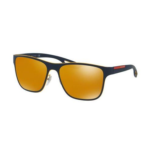 Prada linea rossa Okulary słoneczne ps56qs lj silver vhm5n0