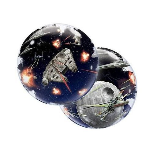 Balon foliowy bubble Star Wars - 56 cm