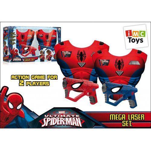 Imc toys Mega laser spiderman - zestaw - darmowa dostawa od 199 zł!!! (8421134550902)