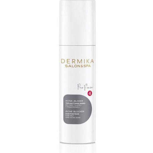 acne blocker 3-active mask trójaktywna maska acne-bloker marki Dermika