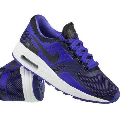 Nike sportswear air max essential tenisówki i trampki black/paramount blue/binary bluewhite (0886916428837)