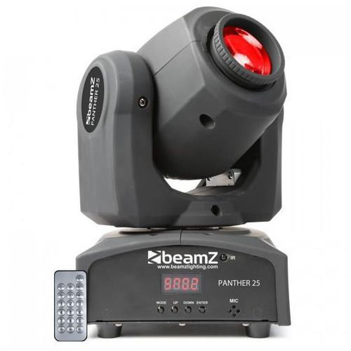 Panther 25 spotów LED Ruchoma głowa 7 efektów Gobos 7 kolorów włącznie z p