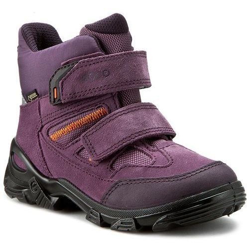Śniegowce ECCO - Snowboarder 72124259663 Night Shade/Grape/Grape