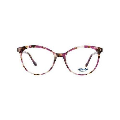 Okulary Korekcyjne Woodys Barcelona Mandarine 02