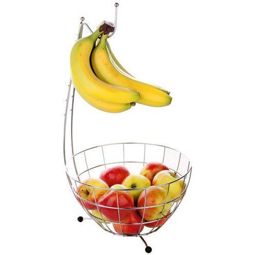 Kosz na owoce z haczykiem - stal chromowana